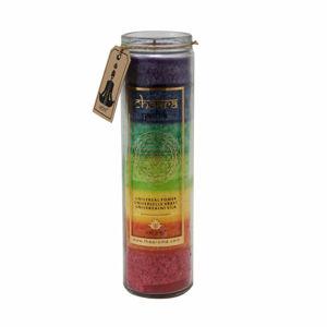 Arome Vysoká vonná svieca Chakra Univerzálna sila 320 g