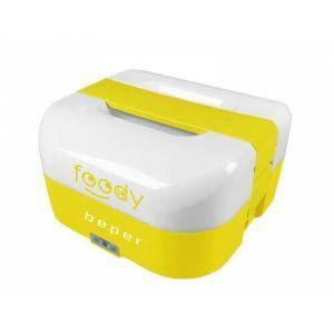 BEPER BC160G elektrický obedový box, 1.6l, duálne napájanie, žltý