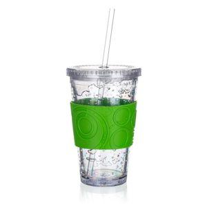 Banquet Téglik s chladiacou vložkou Double 450 ml, zelená