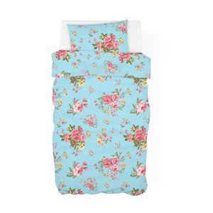Bavlnené obliečky Vintage Rose tyrkysová, 140 x 200 cm, 70 x 90 cm