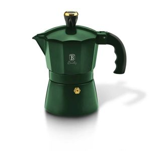 Berlinger Haus Kanvica na espresso 3 šálky Emerald Collection