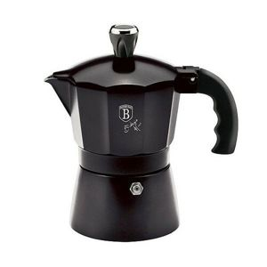 Berlinger Haus Kanvica na espresso Royal Black Collection, 3 šálky