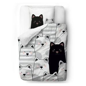 Butter Kings Saténové obliečky Cats, 140 x 200 cm, 70 x 90 cm