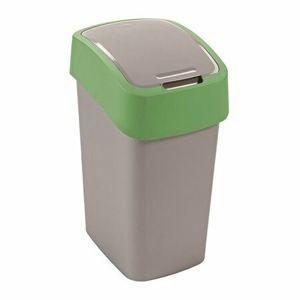 Curver Odpadkový kôš FLIP BIN 10 l, zelená