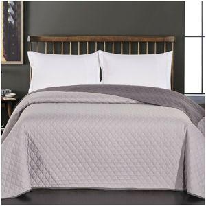 DecoKing Prehoz na posteľ Axel sivá, 220 x 240 cm