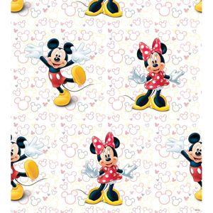 AG Art Detská fototapeta Mickey a Minnie, 53 x 1005 cm