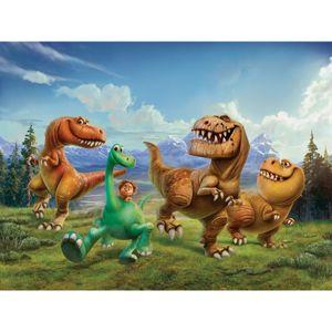 AG Art Detská fototapeta XXL Dobrý dinosaurus 360 x 270 cm, 4 diely