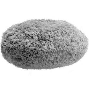 Domarex Vankúš okrúhly Queen sivá, 50 cm