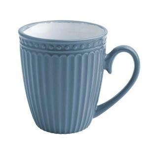 Florina Sada keramických hrnčekov Doric 330 ml, 6 ks, modrá
