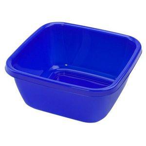 Heidrun Lavór štvorcový 9 l, modrá