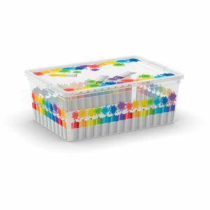 KIS Plastový úložný box C-Box Colours Arty S, 11 L