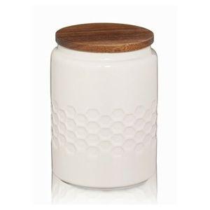 Kela Dóza MELIS keramika 0,8l krémová