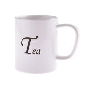 Keramický hrnček Tea 380 ml, biela