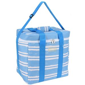 Koopman Chladiaca taška Nautical modrá, 34 x 22 x 34 cm