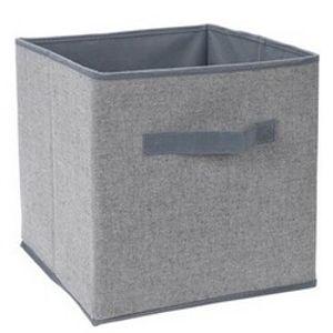 Koopman Úložný box 30 x 30 x 30 cm, sivá