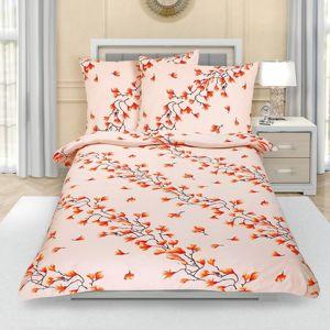Bellatex Krepové obliečky Krík jesenný, 140 x 200 cm, 70 x 90 cm