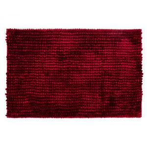 Bo-ma Kúpeľňová predložka Ella micro červená, 50 x 80 cm