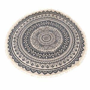 Dakls Kusový koberec Mandala sivá, 82 cm