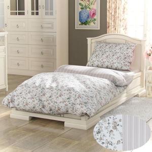 Kvalitex Bavlnené obliečky Provence Viento béžová, 240 x 200 cm, 2 ks 70 x 90 cm