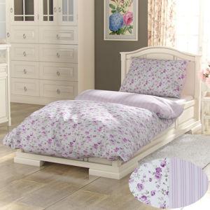 Kvalitex Bavlnené obliečky Provence Viento ružová, 240 x 200 cm, 2 ks 70 x 90 cm