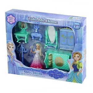 Nábytok pre bábiky Zimné kráľovstvo