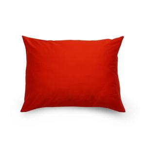 Kvalitex Obliečka na vankúš satén červená, 70 x 90 cm, 70 x 90 cm