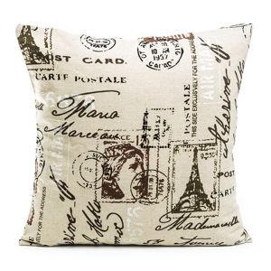 Jahu Obliečka na vankúšik Stamp, 45 x 45 cm