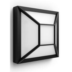 Philips 17393/30/P0 Drosera Vonkajšie nástenné LED svietidlo 19 cm, čierna