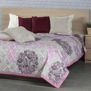 Night in Colours Prehoz na posteľ Ottorino fialová
