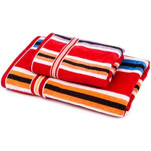 Jahu Sada Stripes Ema uterák a osuška, 70 x 140 cm, 50 x 100 cm
