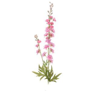Koopman Umelá kvetina Delphinium svetloružová, 85 cm