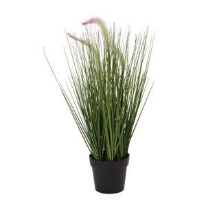Umelá kvitnúca tráva Lotta, 46 cm
