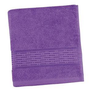 Bellatex Froté uterák Kamilka prúžok fialová, 50 x 100 cm