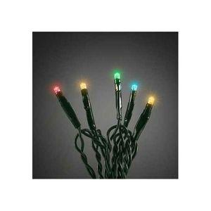 Vianočná svetelná reťaz 20 LED, 1,4 m, farebná