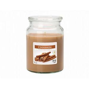 Vonná sviečka v skle Škorica, 500 g